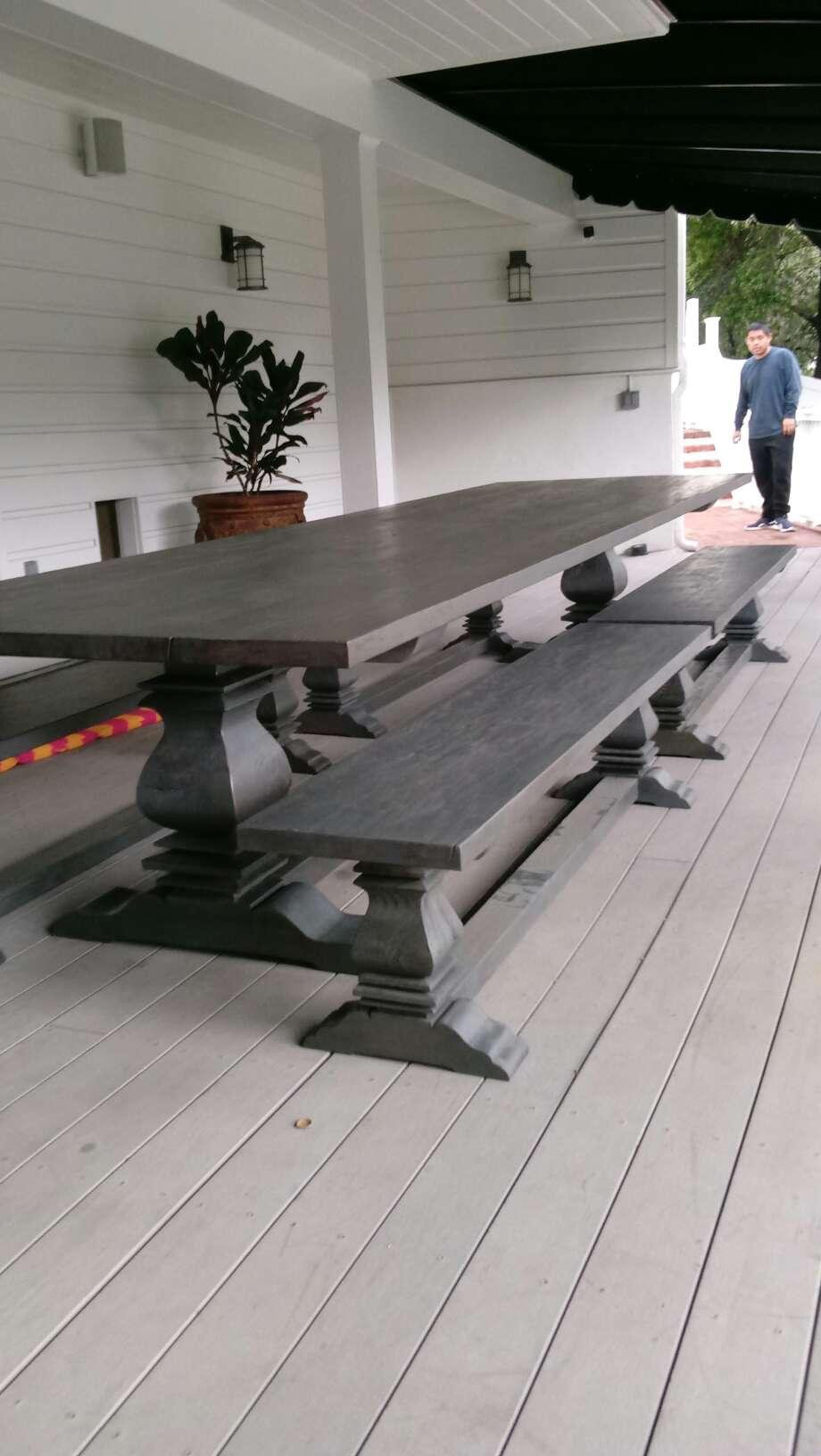 14 foot dining table