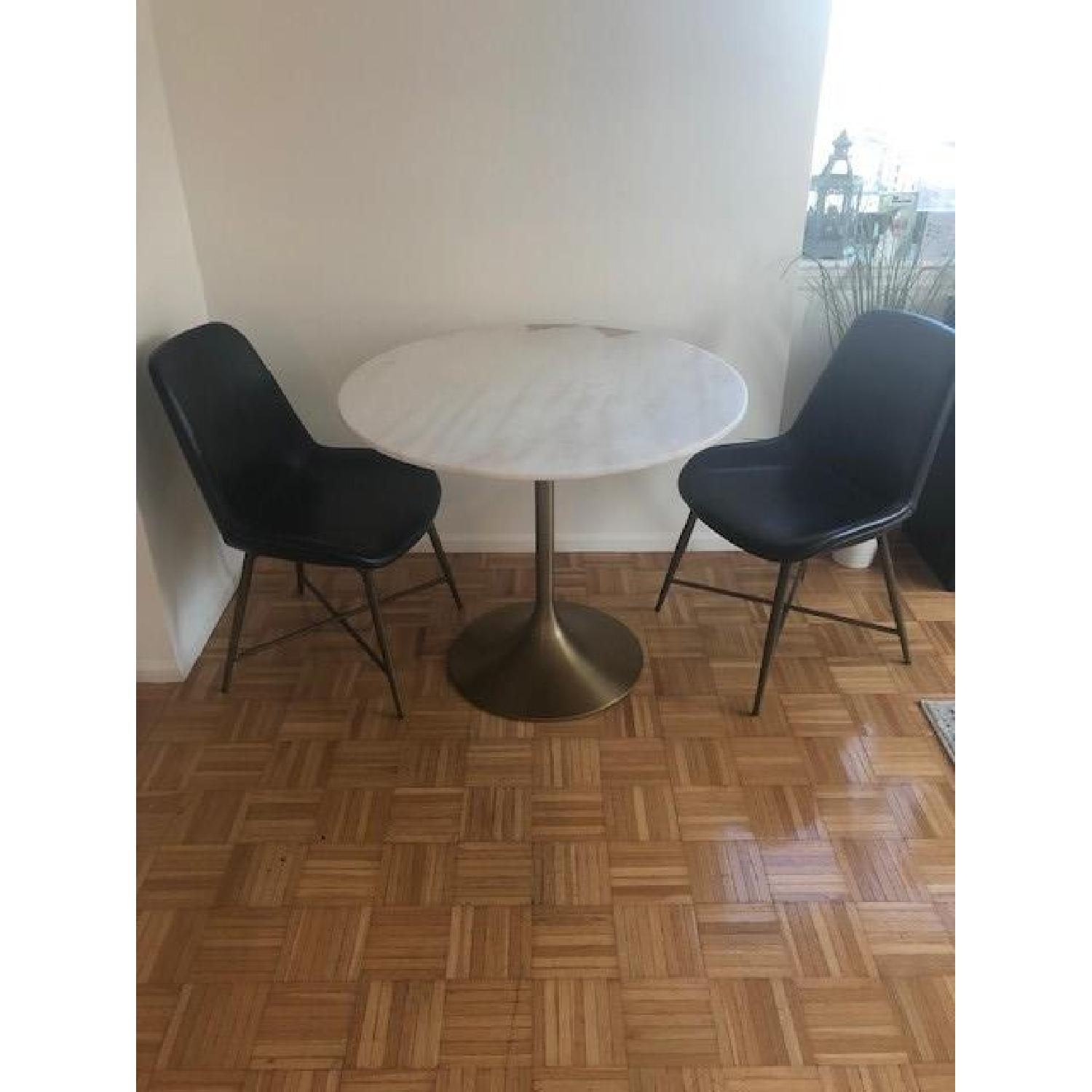 world market leather dining chairs
