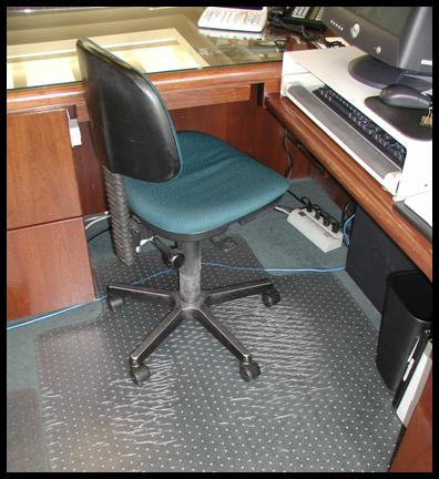 large office chair mat