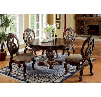 tuscan dining table and chairs