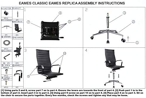 parts of office chair