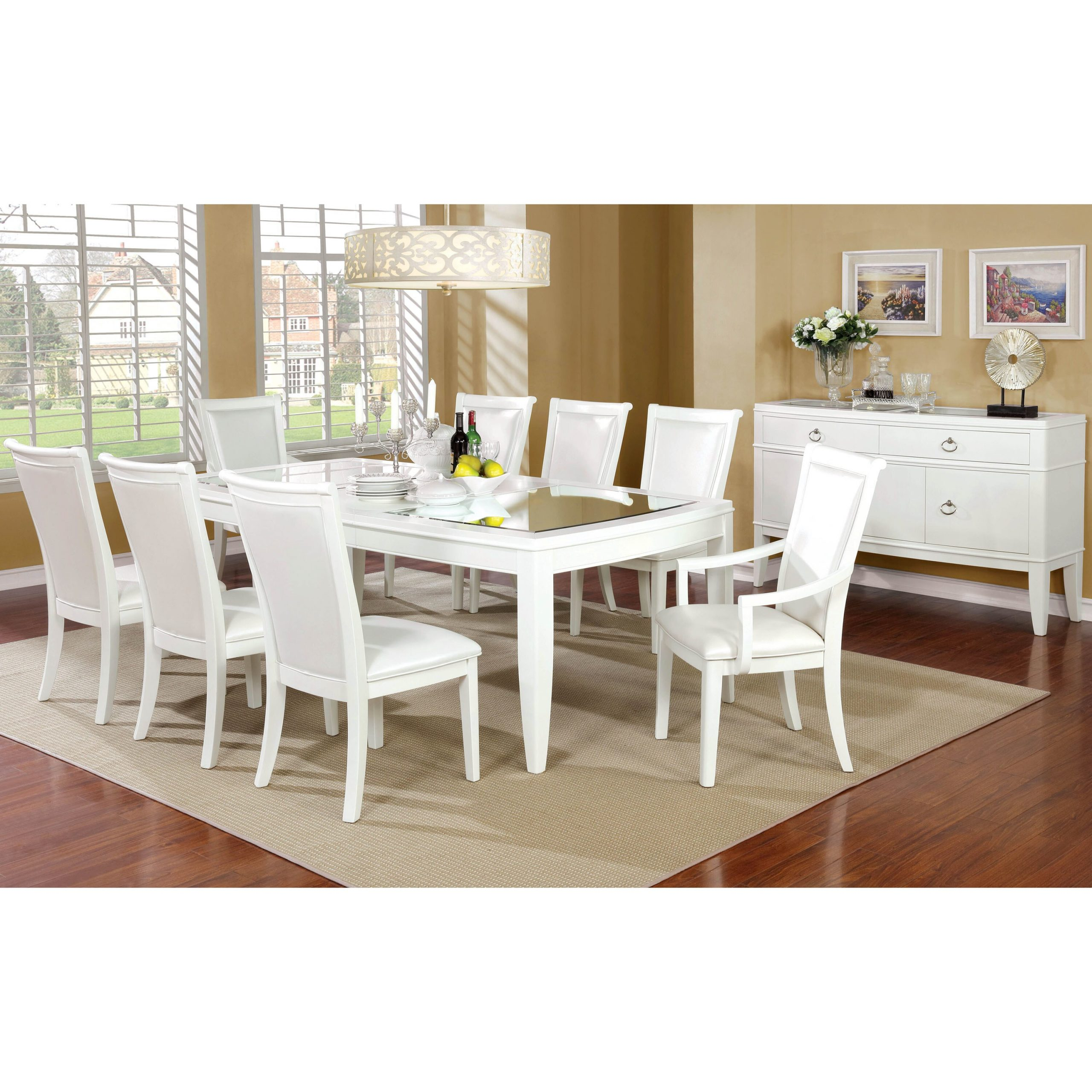 mirror top dining table