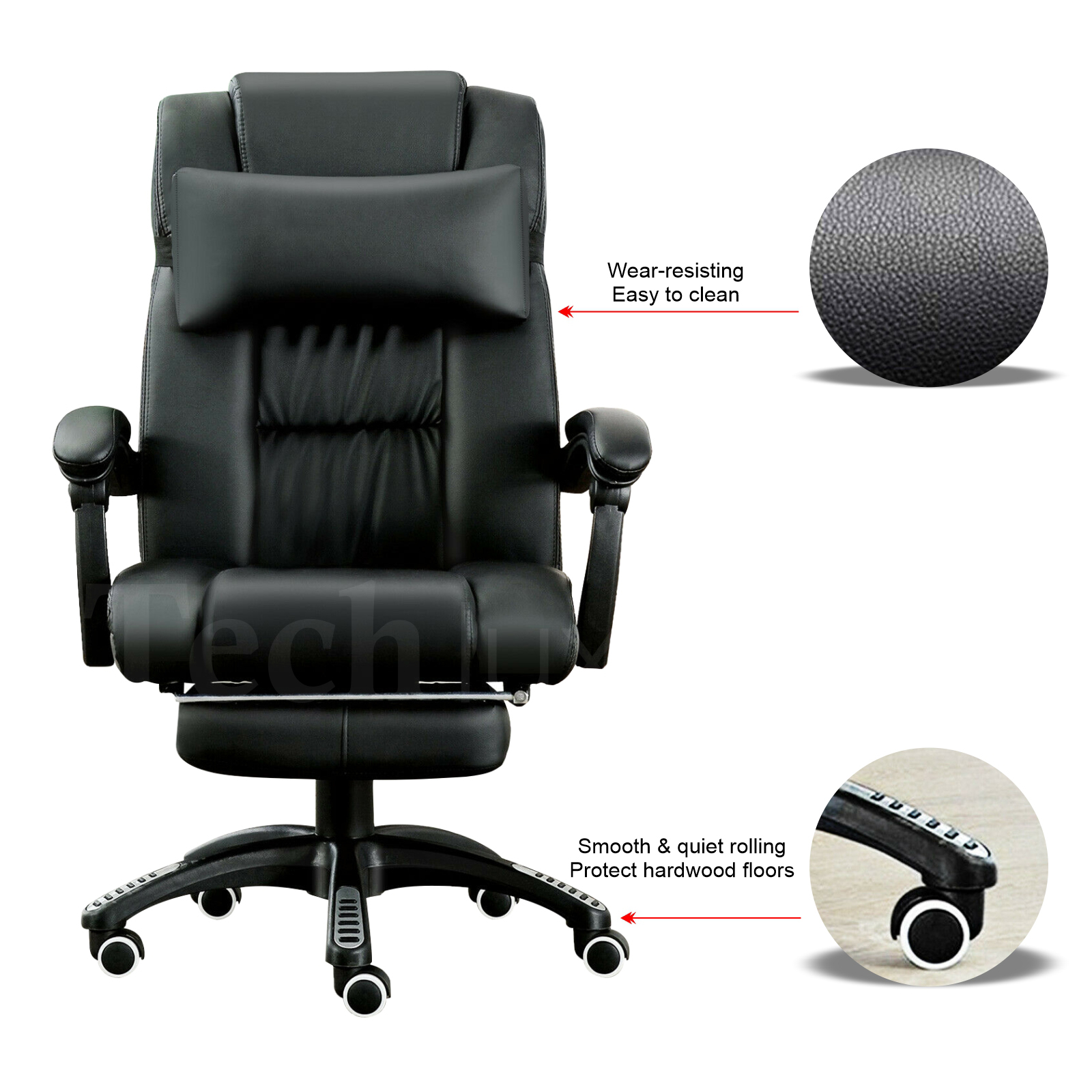 protect hardwood floor from office chair