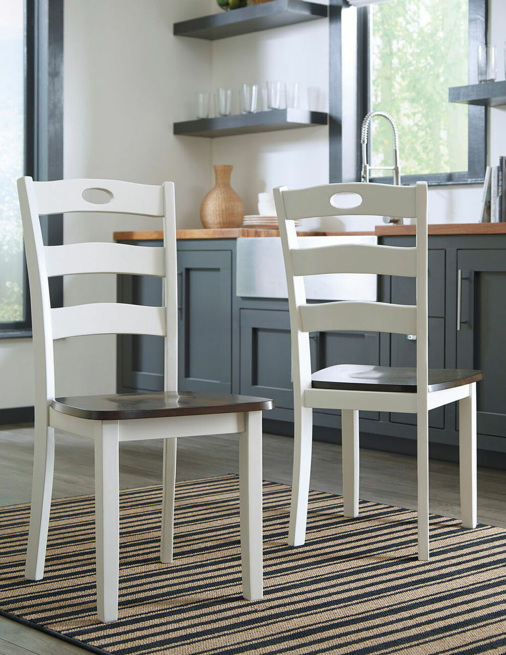 cream dining room chairs sale