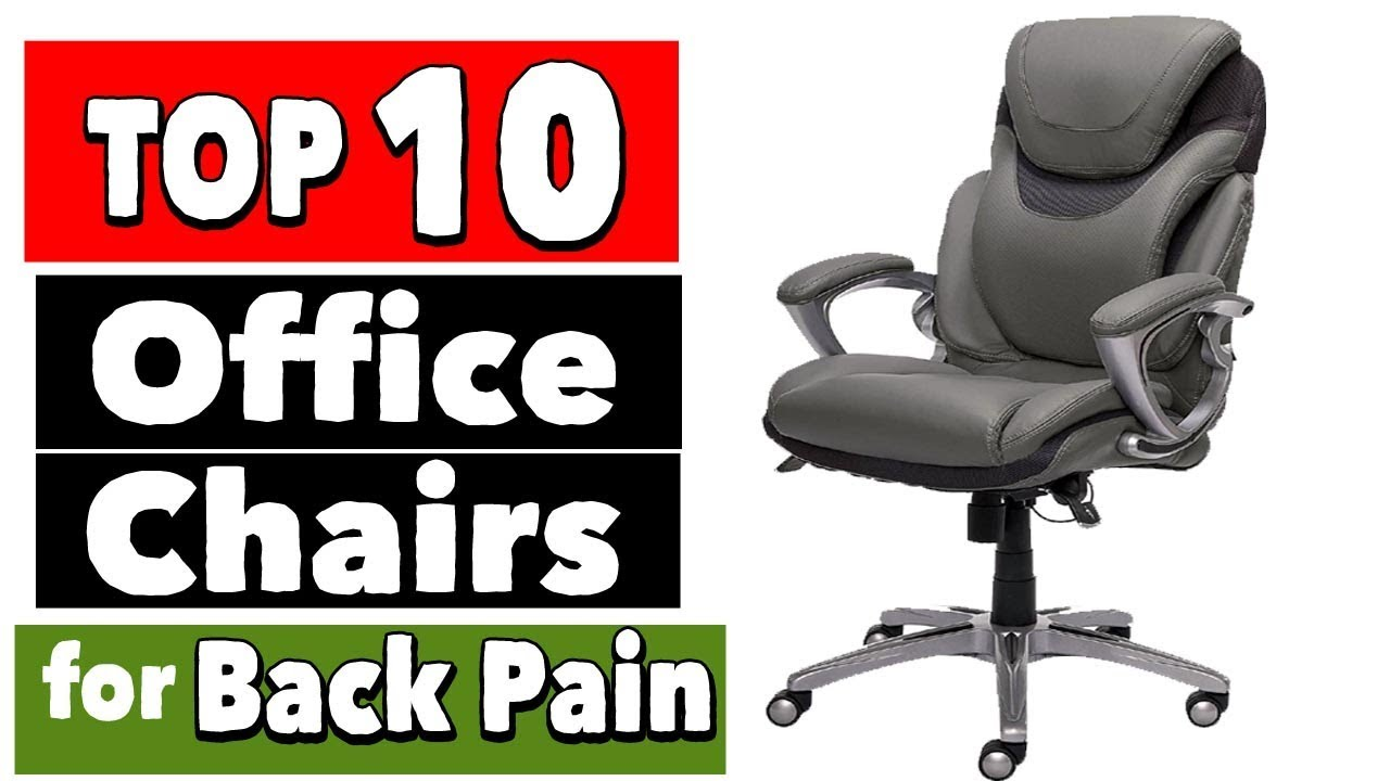 best office chairs for back problems