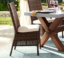 burlap slipcover dining chairs
