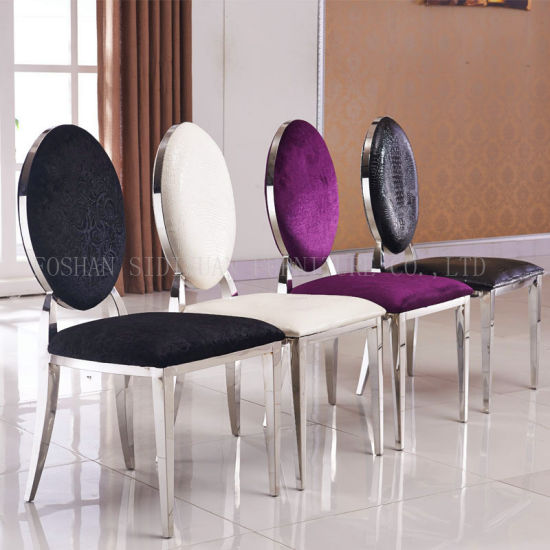 steel chairs for dining table
