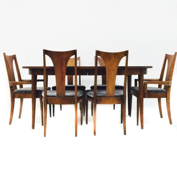broyhill brasilia dining table and chairs