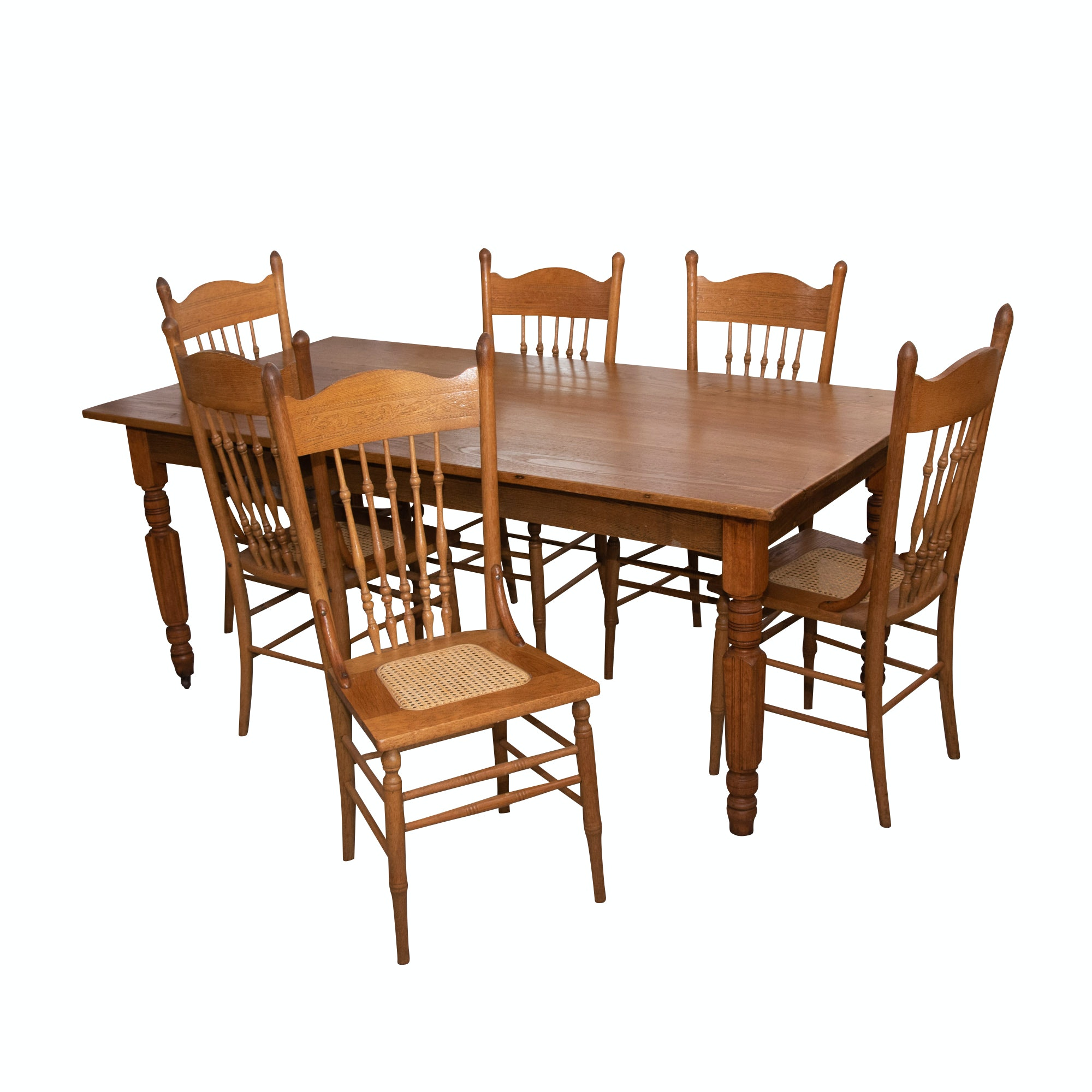 colonial style dining table