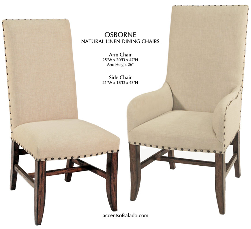 tuscan dining room chairs