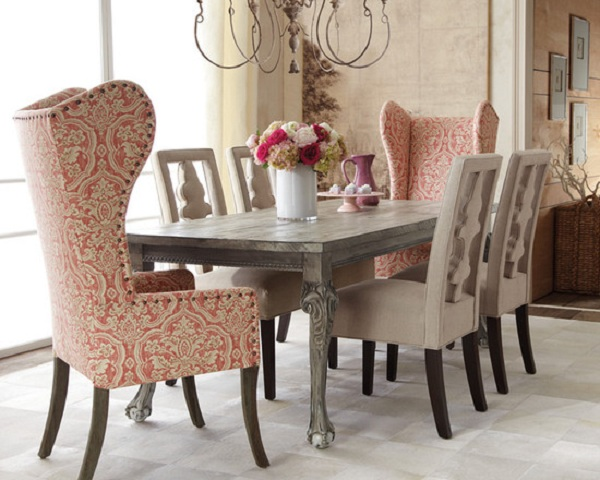 host and hostess dining room chairs