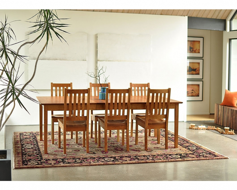 Shaker Dining Table Shaker Style Dining Table The Joinery
