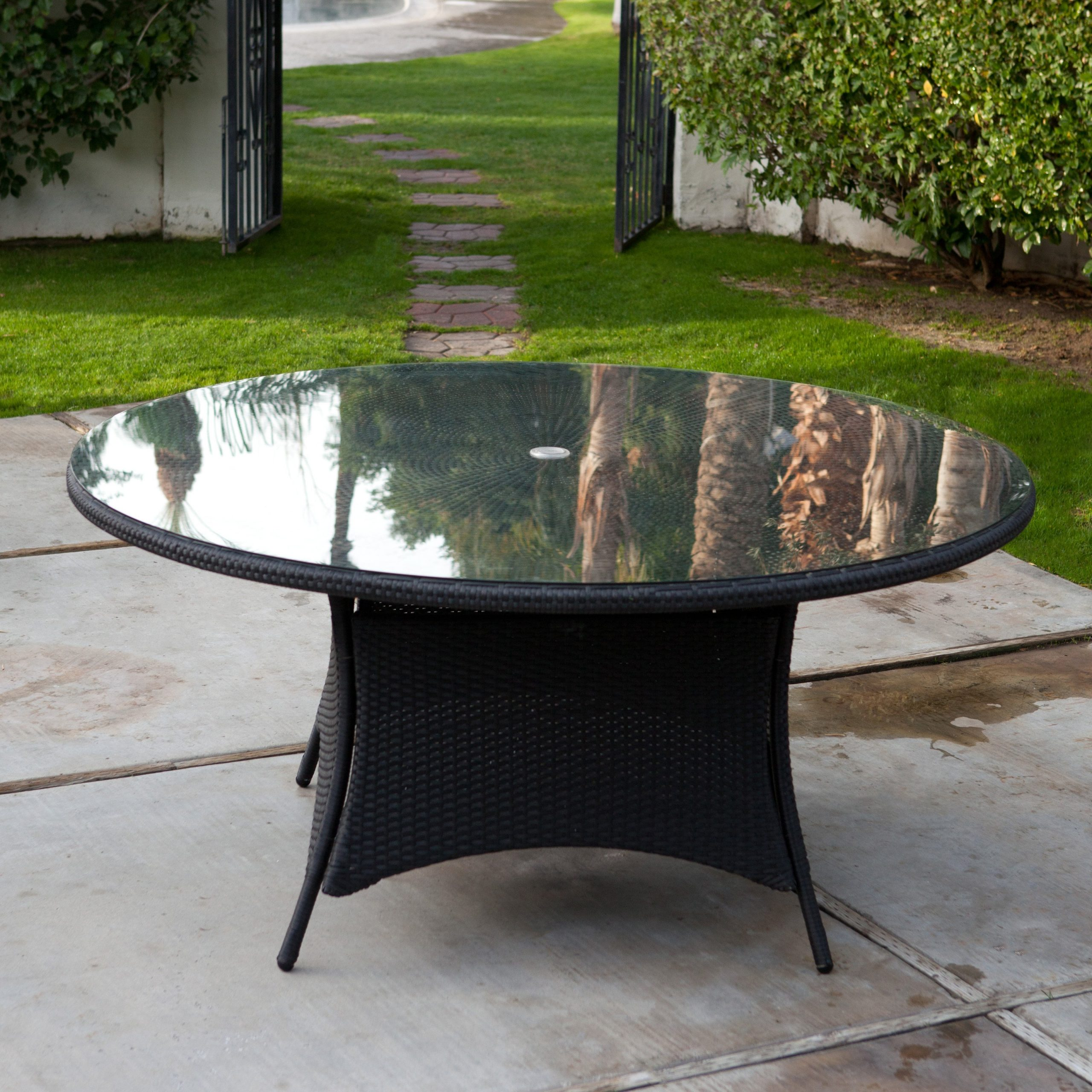 dining table glass replacement