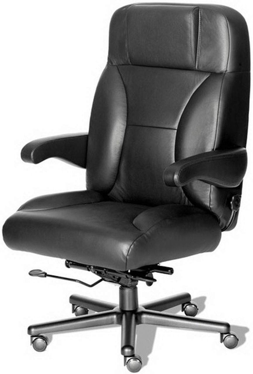 big leather office chair