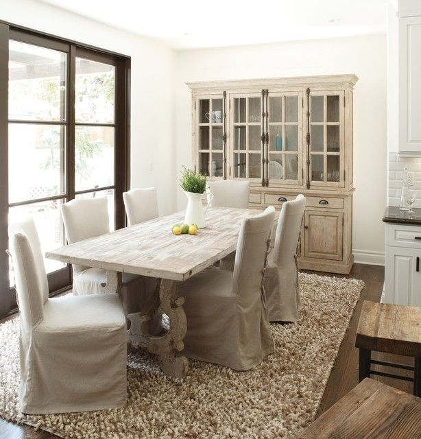 french inspired dining table