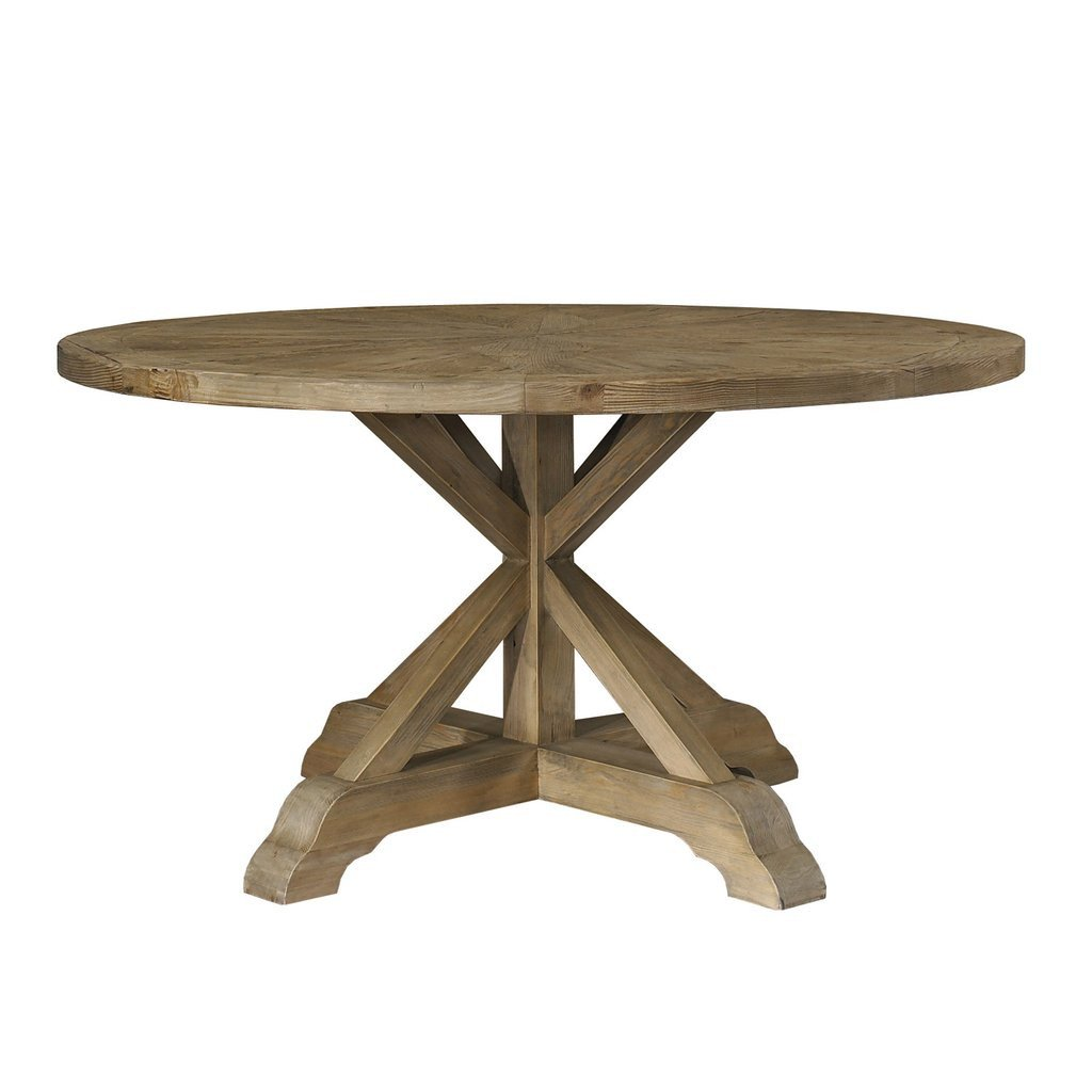 reclaimed wood dining table houston
