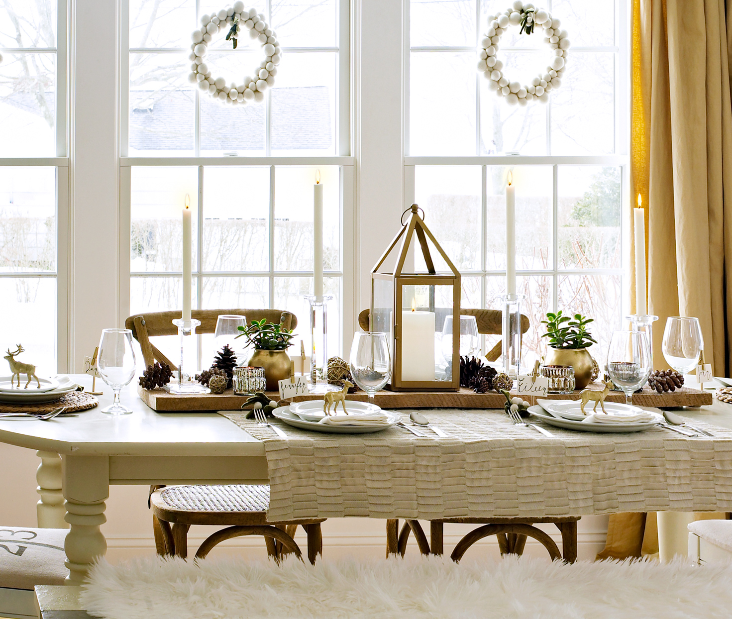 dining room table centerpieces for sale