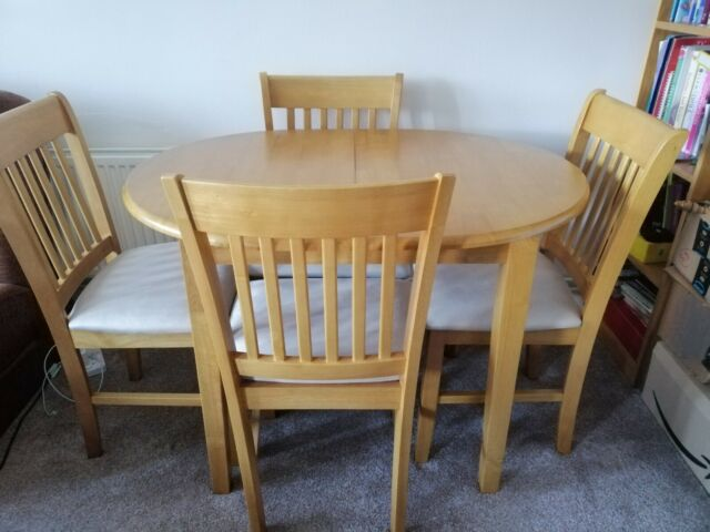 ebay dining table and chairs used