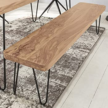 dining table bench with backrest