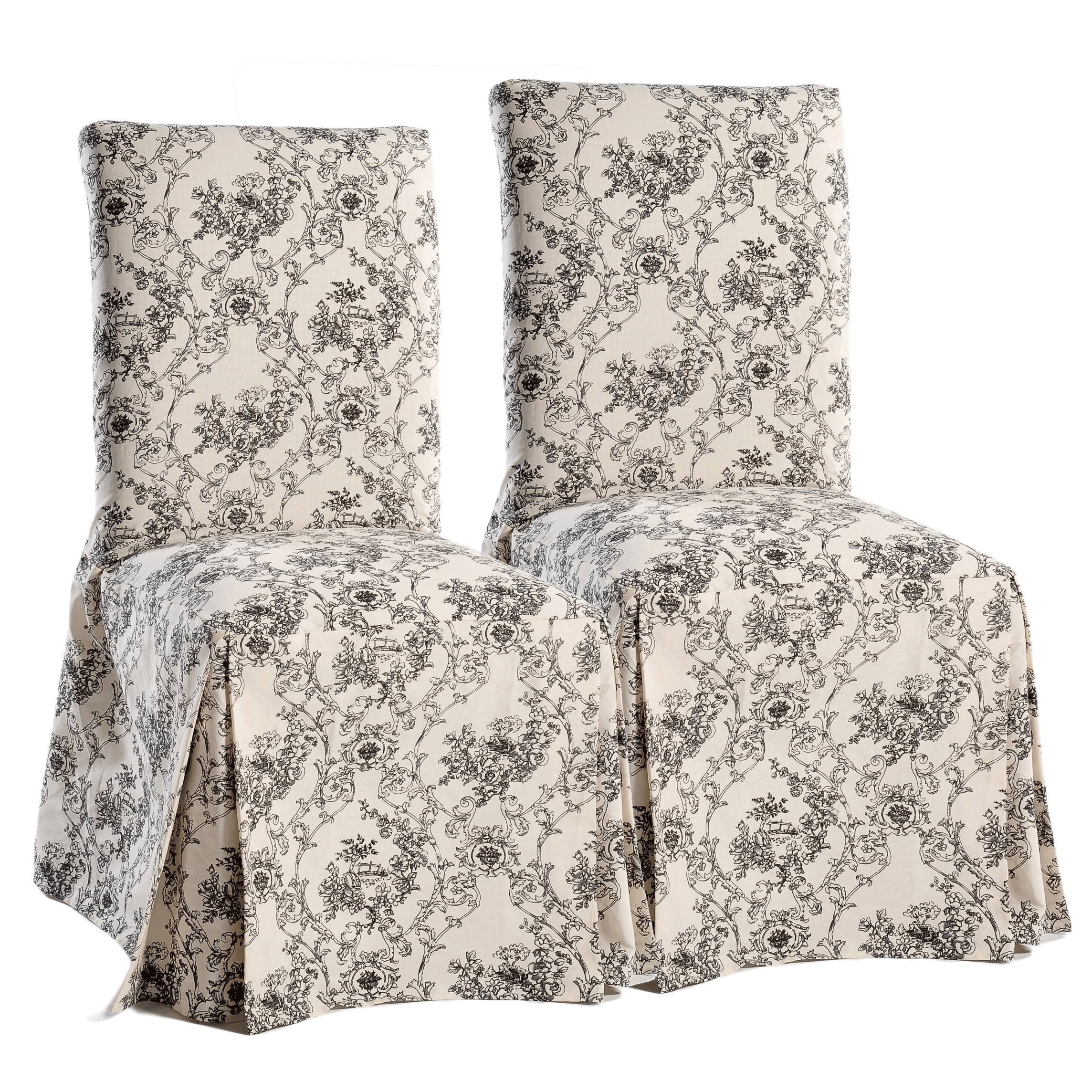toile dining chair cushions