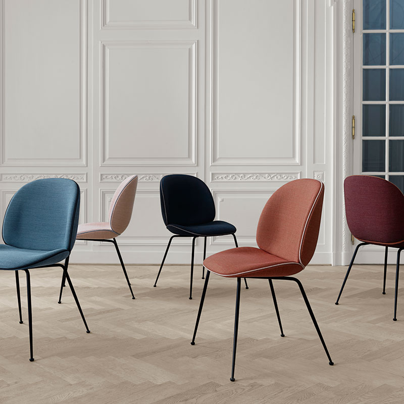 fully upholstered dining chairs