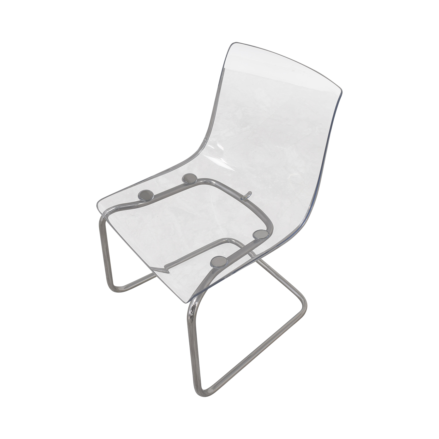 ikea clear dining chairs