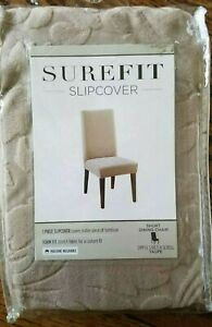 sure fit stretch pique dining chair slipcover