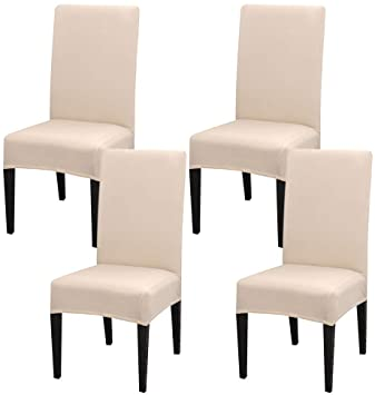 short dining chair cover