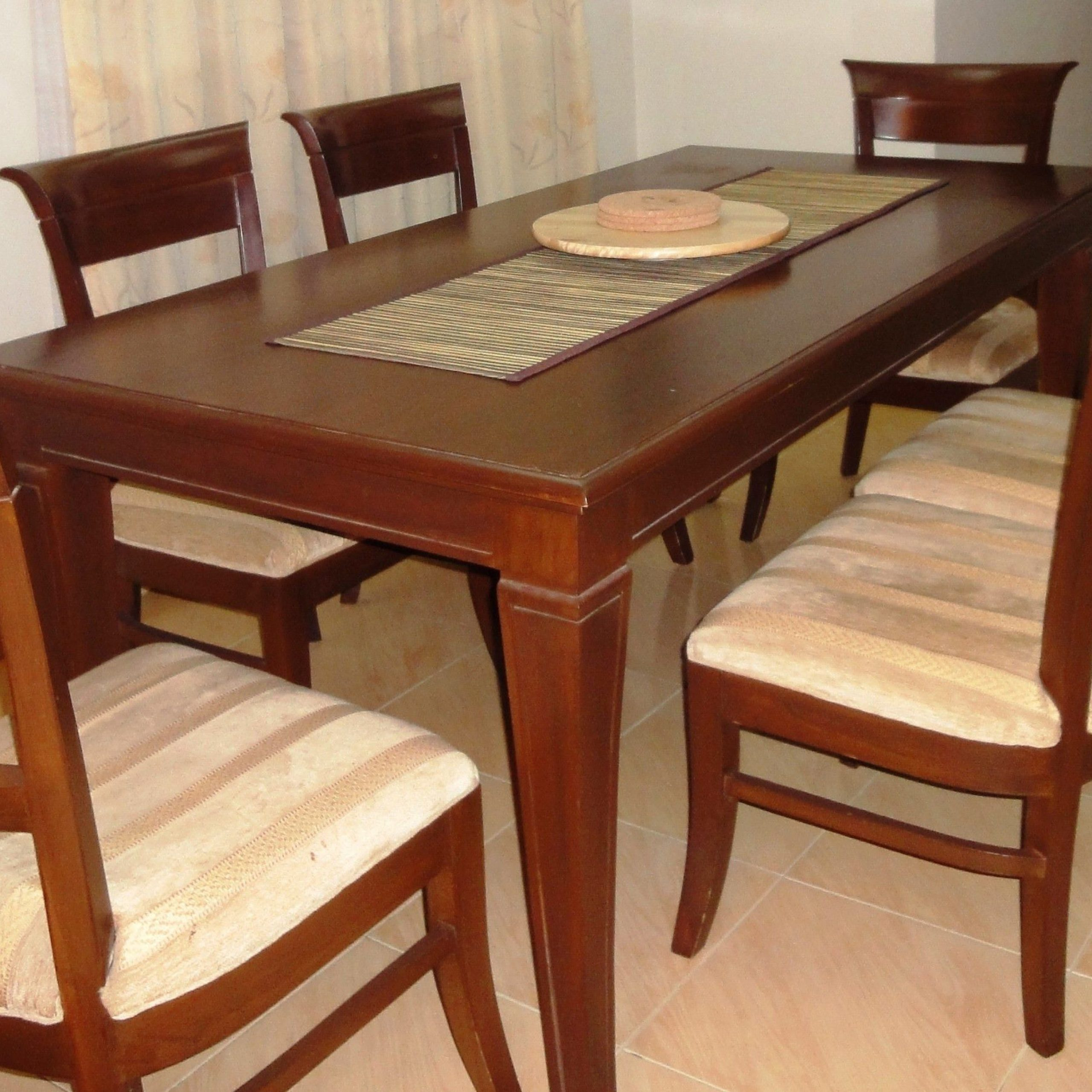 used dining table and chairs sale