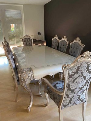 arm chairs dining room