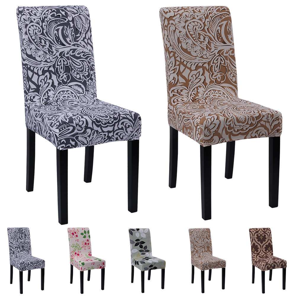 stretch short dining chair covers
