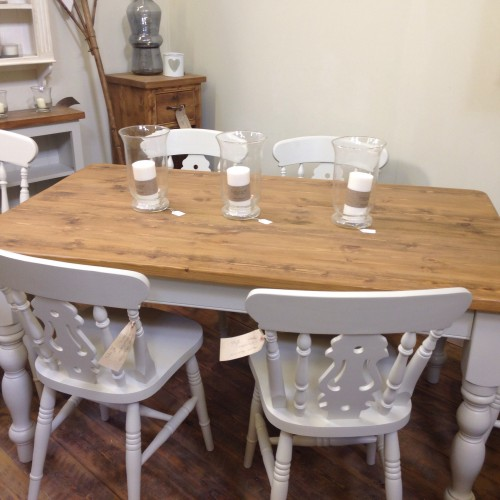 shaker style dining table and chairs