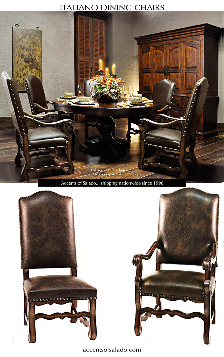 old world dining chairs
