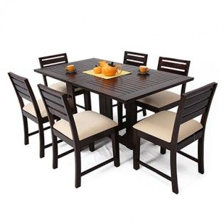 folding dining table for 6
