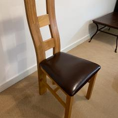 high quality leather dining chairs
