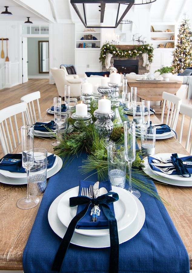 dining table set up decoration