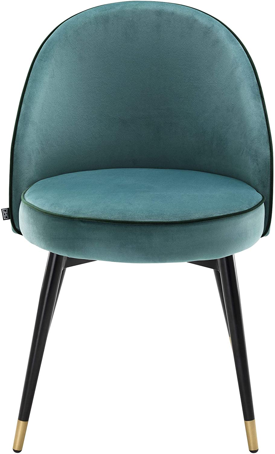turquoise leather dining chairs