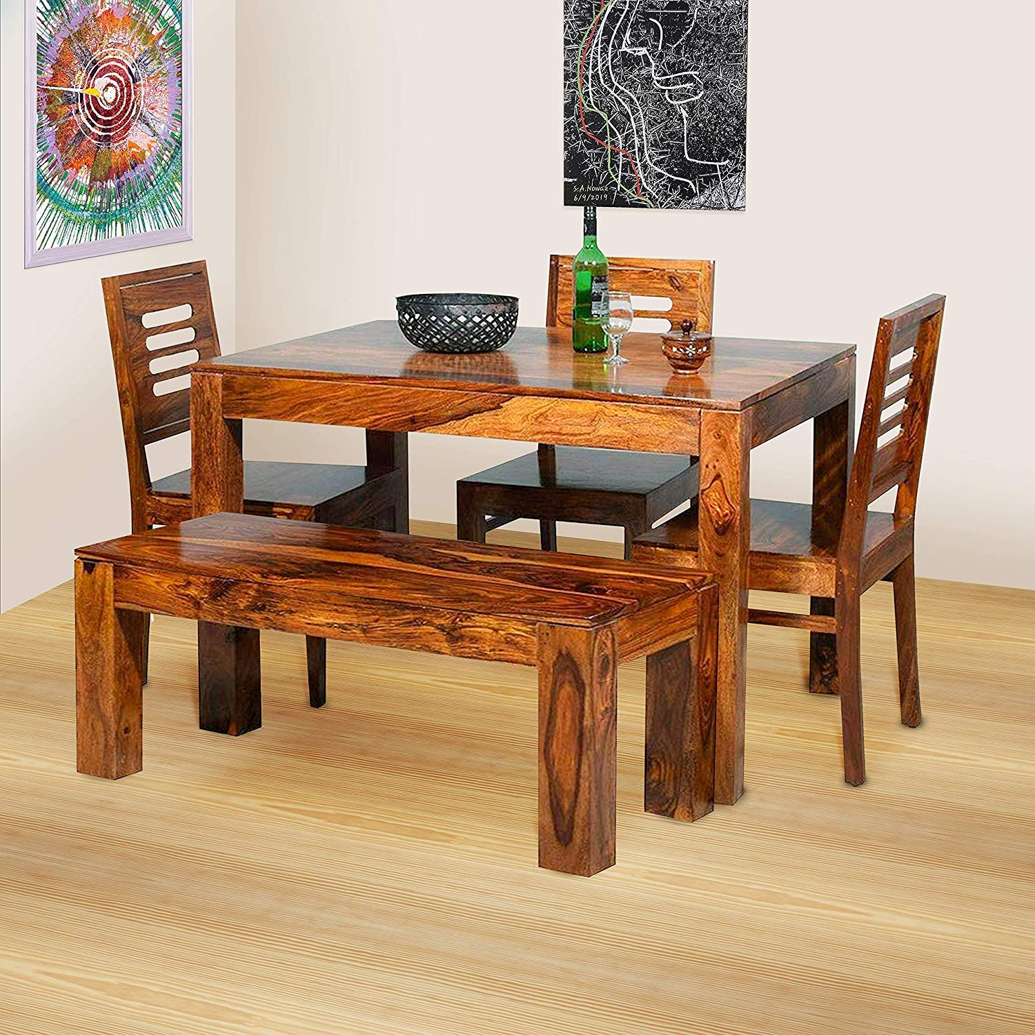 3 chair dining table