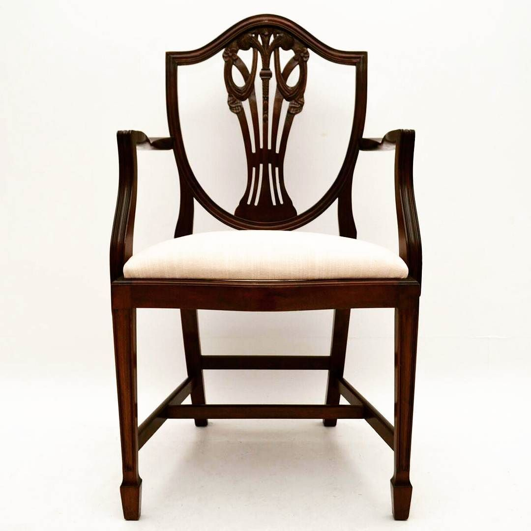 Set Of 8 Antique Adam Style Mahogany Dining Chairs At Marylebone Antiques This Is One Of A Set Of Eight Antique Adam Style Antique Chairs Chair Dining Chairs
