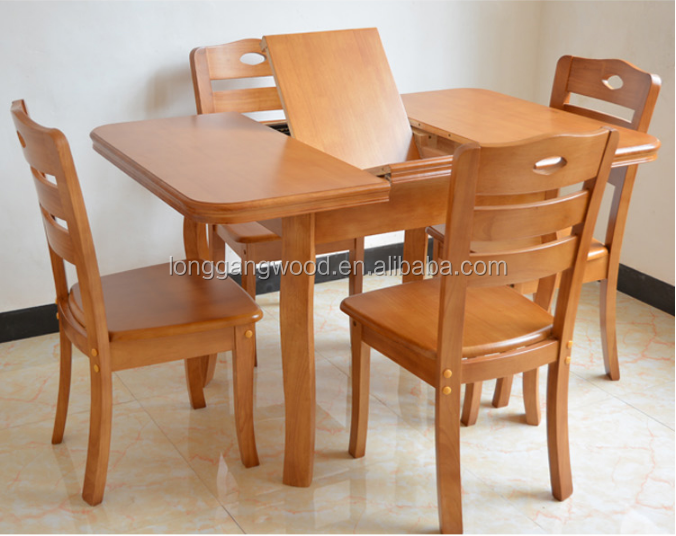 solid wood oval dining table