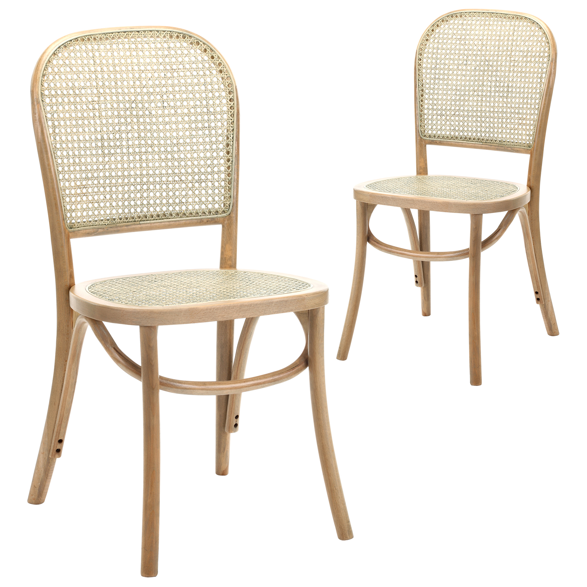 cane dining chairs for sale