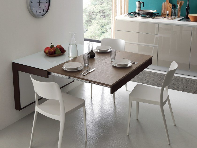 wall mounted dining table ideas