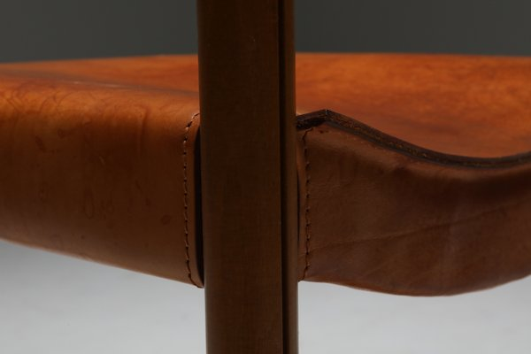 brown real leather dining chairs