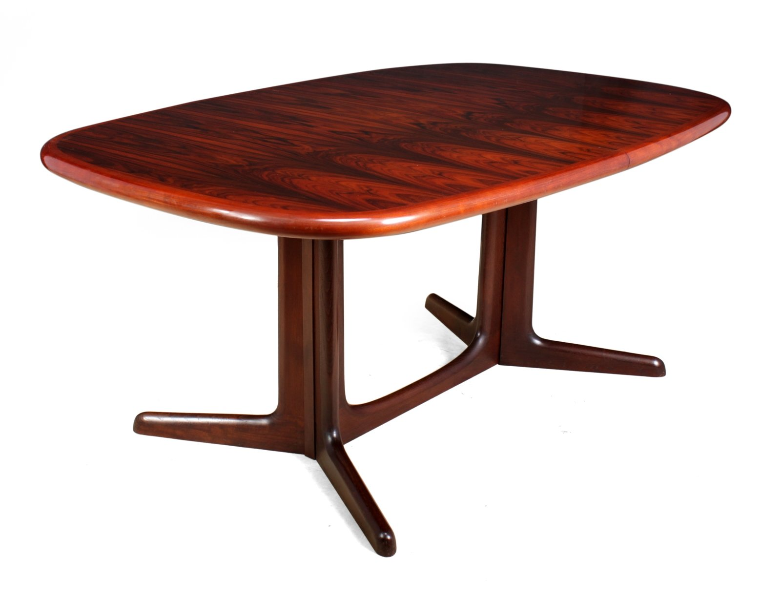 mid century rosewood dining table
