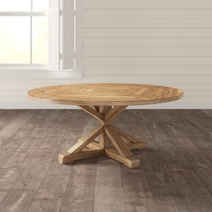 48 inch round wood dining table