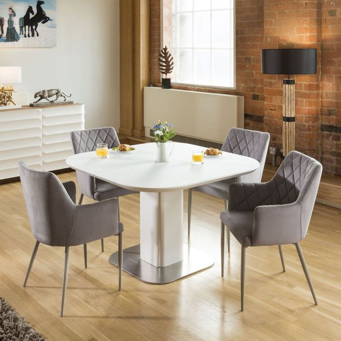 extending square dining table