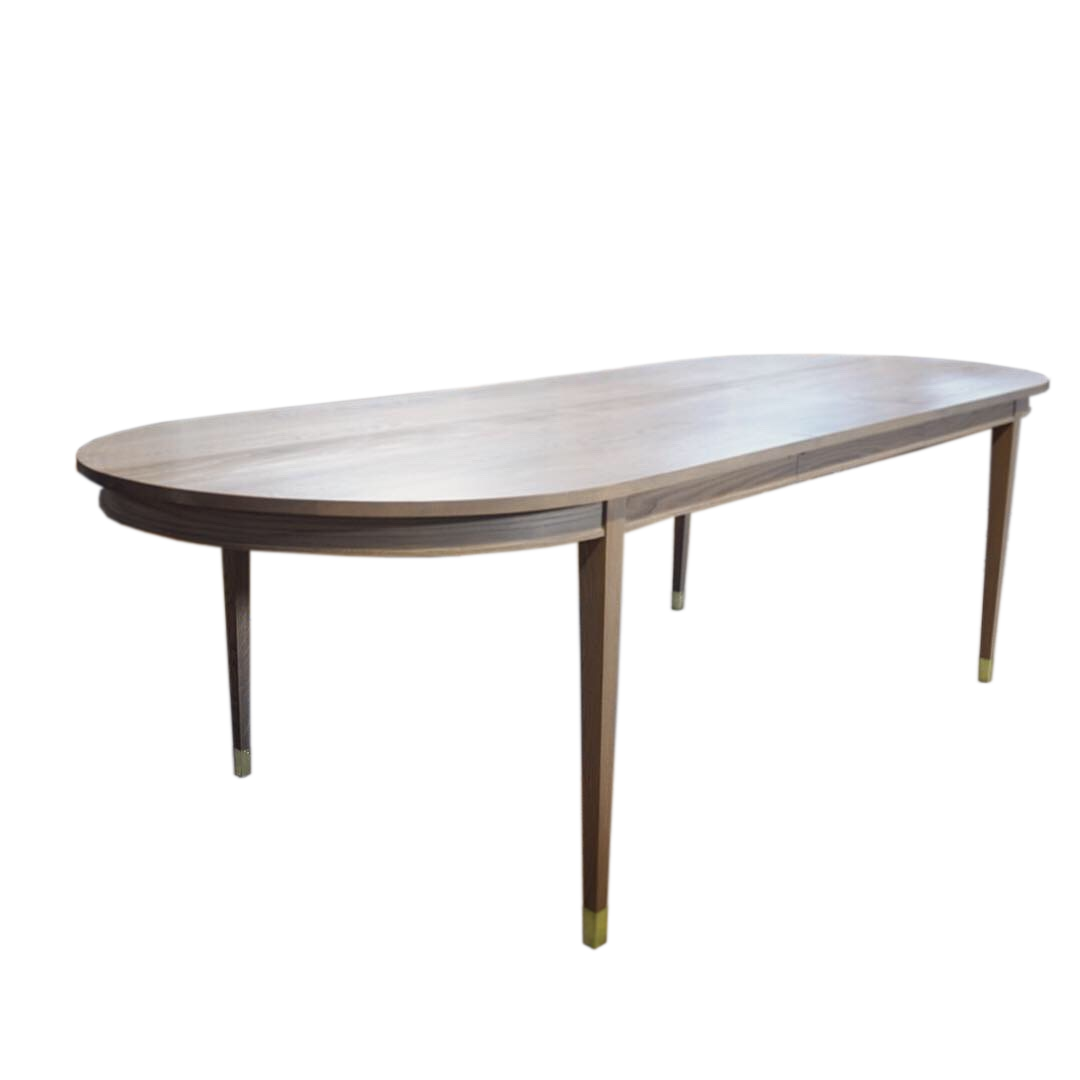 oak oval extendable dining table