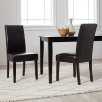 dining room parson chairs