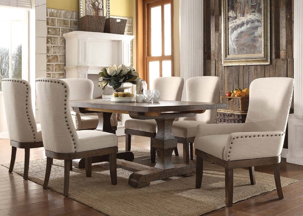 cream dining table sets