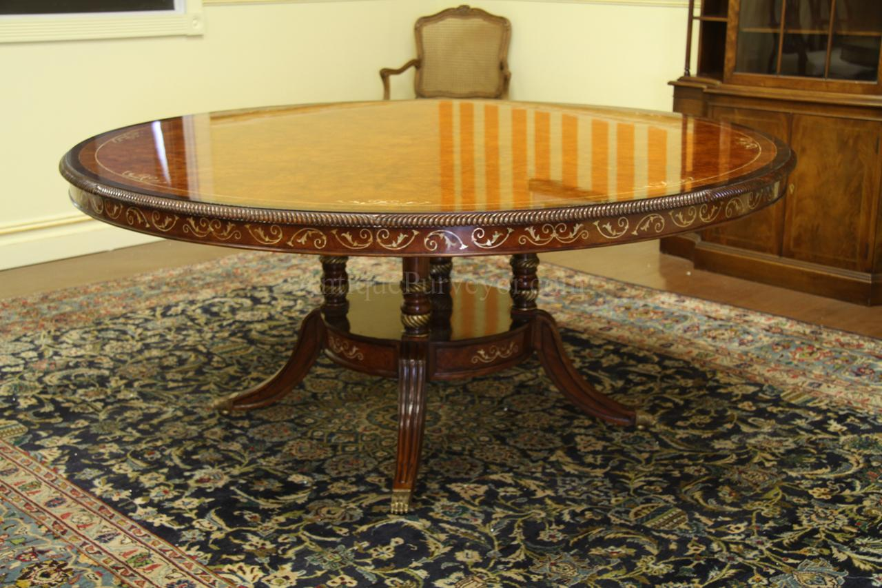 72 inch square dining room table